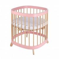 Ліжко Tweeto 7 в 1 pink-nature