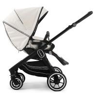Прогулянкова коляска Emmaljunga NXT60 Black FLAT Lounge Beige