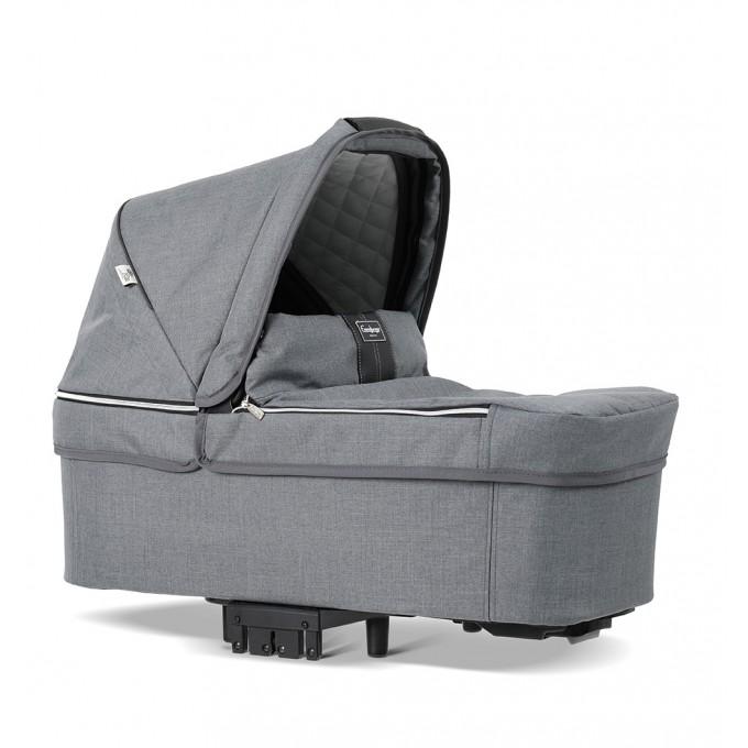 Коляска Emmaljunga NXT Twin Outdoor FLAT Lounge Grey