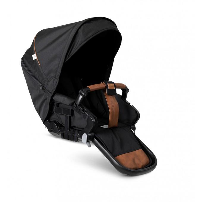 Прогулянкова коляска Emmaljunga NXT Twin Outdoor Air FLAT Outdoor Black