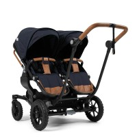 Прогулянкова коляска Emmaljunga NXT Twin Outdoor Air Outdoor Navy