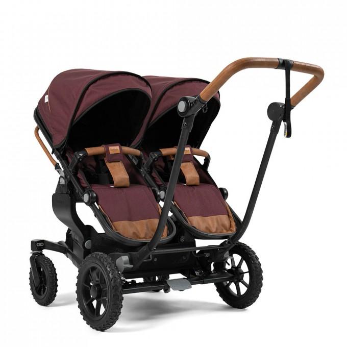 Прогулянкова коляска Emmaljunga NXT Twin Outdoor Air Savannah