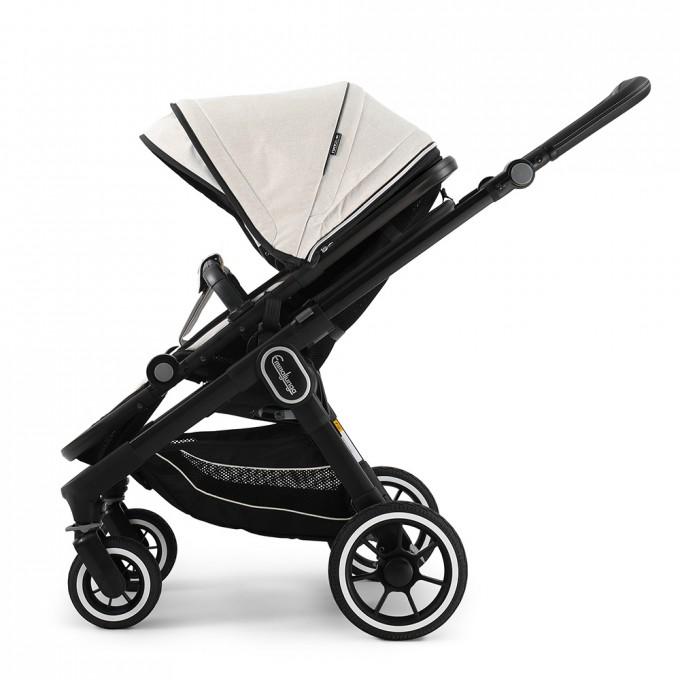 Прогулянкова коляска Emmaljunga NXT60 Black Lounge Beige Eco