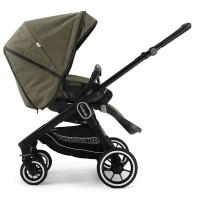 Прогулянкова коляска Emmaljunga NXT60 Black FLAT Outdoor Olive