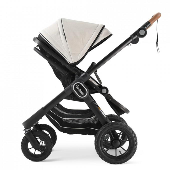 Прогулянкова коляска Emmaljunga NXT90 Black Outdoor Air Lounge Beige