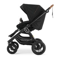 Прогулянкова коляска Emmaljunga NXT90 Outdoor Air FLAT Outdoor Black