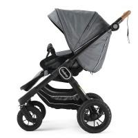 Прогулянкова коляска Emmaljunga NXT90 Outdoor Air FLAT Lounge Grey