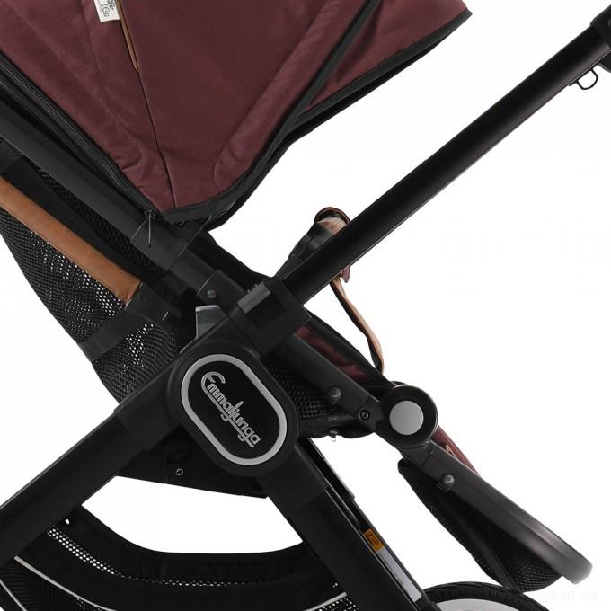 Прогулянкова коляска Emmaljunga NXT90 Black  Outdoor Air Savannah Eco
