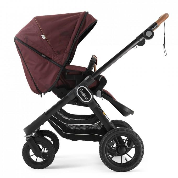 Прогулянкова коляска Emmaljunga NXT90 Outdoor Air FLAT Savannah