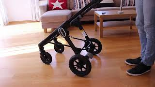 Emmaljunga NXT60 F складання коляски